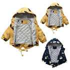 Toddler Kid Baby Boy Girl Winter Cartoon Hooded Warm Thick Jacket Coat Outwear L
