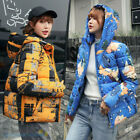 Winter Women Hooded Short Warm Bread service Padded Coat Cotton Jacket Outerwear