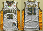 Indiana Pacers Basketball Jersey NO.31 Shirt Reggie Miller Mesh White Size:S-XXL on eBay
