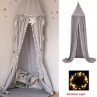 US Mosquito Net Canopy Fly Insect Protect Single Entry For Double King Bed image