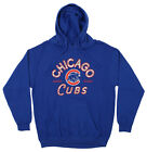 Zubaz MLB Men's Chicago Cubs Arched Logo Fleece Pullover Hoodie on Ebay