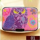 Box Bag Credit ID Card Women's Card Case Holder Card Security Layers Theft Proof