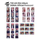 TWICE 4th mini album Signal Official Photocard KPOP K-POP
