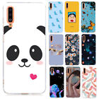 For Samsung Galaxy A21S A31 A41 A50 A51 A71 Silicone Painted Soft TPU Case Cover