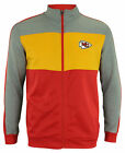 OuterStuff NFL Youth Performance Full Zip Stripe Jacket , Kansas City Chiefs $54.99 USD on eBay