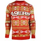 Forever Collectibles NFL Men's San Francisco 49ers 2015 Aztec Ugly Sweater $39.99 USD on eBay