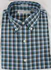 100% Cotton Long Sleeve Button Down Dressy/Casual Plaid Shirt- MARTIN