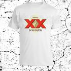 DOS EQUIS Beers Logo Imported Beer Liquor Beverages Mens T-shirt S to 3XL