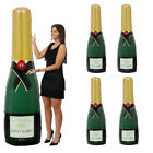 GIANT INFLATABLE CHAMPAGNE BOTTLE BLOW UP PARTY PARTY WEDDING CELEBRATION LOT