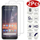 [2-Pack] Tempered Glass Screen Protector For Nokia 1 Plus / 3.2 / 4.2 / 9
