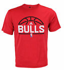 Adidas NBA Men's Chicago Bulls Ultra Lightweight Athletic Rush Graphic Tee, Red on eBay