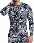 ARMEDES Men's Long Sleeve T-Shirt Baselayer Cool Dry Compression Top AR 141