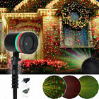 Christmas Star Laser Projector Light LED Moving Outdoor Landscape Stage Lamp US