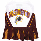 Pets First Washington Redskins NFL Cheerleader Outfit $22.99 USD on eBay