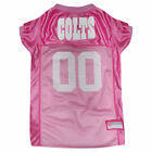 Pets First Indianapolis Colts NFL Pink Mesh Jersey $23.99 USD on eBay