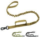 Tactical Military Bungee Dog Leash Dog Training Leash Rope with 2 Control Handle