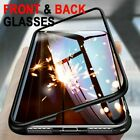 For iPhone 11 Pro-Max Magnetic Full Protect Tempered Glass Screen Cover/TPU Case