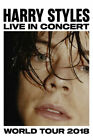 Harry Styles 2018 World Tour Rock Music Fabric Poster Home Decor H-298