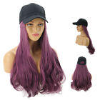 Fashion Cap Wig Hat Full Long Wavy Curly Wig Women Lady Cosplay Party Club Hair