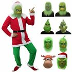 Kyпить Santa Grinch Adult Costume Cosplay How the Grinch Stole Christmas Xmas Outfit US на еВаy.соm