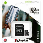 Kingston Micro Sd Card 16gb 32gb 64gb 128gb Tf Class 10 For Smartphones
