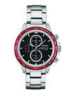 Seiko Men's Solar Chronograph Quartz 100m Stainless Steel Watch