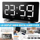 Multi-function Digital LED Alarm Clock Large Screen Display With FM/Radio Charge