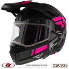 2020 FXR MAVERICK MODULAR TEAM Snowmobile HELMET Black/Fuchsia XS SM MD LG XL