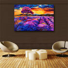Abstract purple landscape HD print on canvas huge wall picture (31x47)