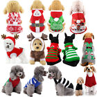 Kyпить Cute Pets Dog Teddy Knitted Sweater Winter Warm Knitwear Clothes Christmas Gifts на еВаy.соm