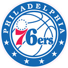 Philadelphia 76ers Basketball Color Logo Sports Decal Sticker - Free Shipping on eBay