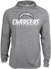 Zubaz NFL Football Men's Los Angeles Chargers Tonal Gray Lightweight Hoodie $34.99 USD on eBay