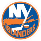 New York Islanders NHL Hockey Color Logo Sports Decal Sticker - Free Shipping $1.98 CAD on eBay