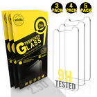 iPhone 11 Pro Max XR XS Max 6 7 8 Plus TEMPERED GLASS Screen Protector Pack Lot
