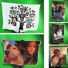 Picture Custom Flannel Fleece Blanket Soft Plush Blanket Throw Warm Special Gift image