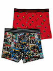 Marvel Mens 2-Pack Uncanny X-Men Comic Book Underwear Boxer Briefs