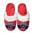 Washington Capitals Women's Stripe Logo SLIDE SLIPPERS New FREE U.S.A. SHIPPING $19.99 USD on eBay