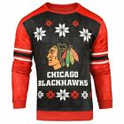 Forever Collectibles NHL Men's Chicago Blackhawks Printed Ugly Sweater $44.95 USD on eBay