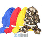 Waterproof Pet Dog Puppy Raincoat Suit Jacket Hooded Rain Outwear Camo Clothes