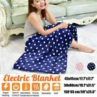 Durable 220V Electric Blanket Heated Throw Soft Winter Warm Heated Blanket D3C5O image