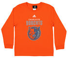 Adidas NBA Youth Charlotte Bobcats Team Logo Tee Shirt, Orange on eBay