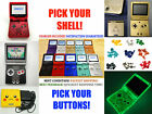 Nintendo Game Boy Advance GBA SP IPS MOD System 10 LEVELS BRIGHT 101 PICK YOURS