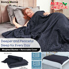 Weighted Blanket Gravity Blankets Sensory Sleep Reduce Anxiety Sofa+Duvet cover image