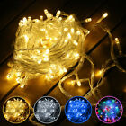 1-100m Led Christmas Fairy String Lights Home Outdoor Garden Party Decor Plug In