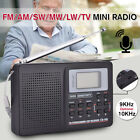Portable Digital World Full Band Radio Receiver Radio Alarm Clock
