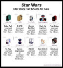 Rise of Skywalker Jamberry Star Wars Nail Wraps $5.0 AUD on eBay