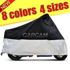 Waterproof Outdoor Indoor Motorcycle Cover UV Protective for Cruisers Bikes $22.58 USD on eBay