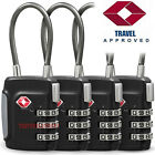 Kyпить TSA Approve Luggage Travel Suitcase Bag Lock [3 Digit Combination] Padlock Reset на еВаy.соm
