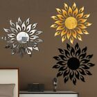 3d Mirror Sun Art Removable Wall Sticker Acrylic Mural Decal Home Room Decor
