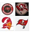 Tampa Bay Buccaneers Themed 4x4 Ceramic Coasters Handmade $16.0 USD on eBay